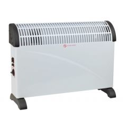Convector electrico suelo turbo termostato 2000w vivahogar