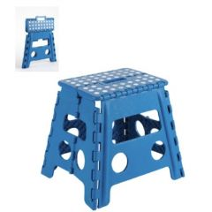 Taburete multiusos 290x320x220mm plastico azul arregui