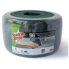 Estropajo limpieza rollo fibra verde scotch brite 3m