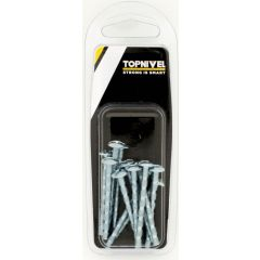 Tornillo tirador multicorte m4x45mm zincado nivel acero 12 pz nv107638