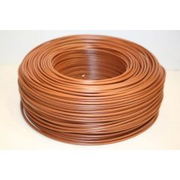 Cable electricidad hilo flexible 750v 2,5mm marron cemi