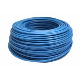 Cable electricidad hilo flexible 750v 6mm azul cemi