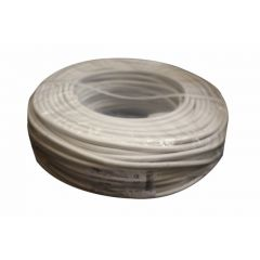 Cable electricidad manguera redondo 750v 2x2,5mm blanco cemi