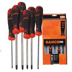 Destornillador pl/recta/ph bahcofit bahco 6 pz b219.006