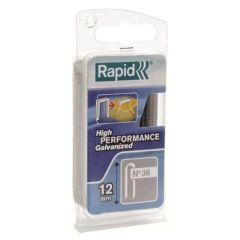 Grapa electricidad cable 14mm nº36 rapid 864 pz 40109627