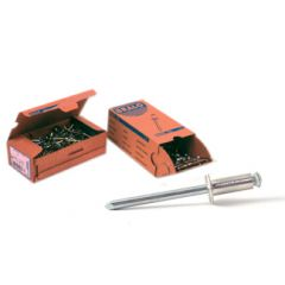 Remache fijacion flor 4x20mm aluminio bralo 500 pz 01130004020