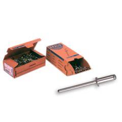 Remache fijacion estándar 6x12mm aluminio bralo 250 pz 01010006012