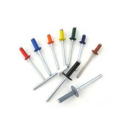 Remache fijacion estándar 4x16mm aluminio bralo 500 pz 01010bl4016