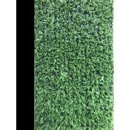 Cesped artificial 1 tono 2x25mt 7mm verde moqueta natuur
