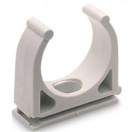 Abrazadera fijacion tubo flexible 16mm fischer plastico 100 pz ft 98815