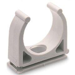 Abrazadera fijacion tubo flexible 20mm fischer plastico 100 pz ft 98816