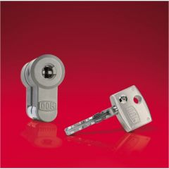 Cilindro seguridad leva larga 30x30mm acero laton diamant dom 333tdia0501
