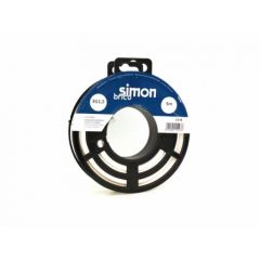 Cable electricidad manguera redondo 3x1,5   5mt blanco simon brico