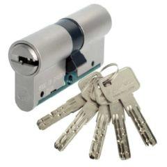 Cilindro seguridad leva larga 40x40mm laton niquelado c6 lince c654040n