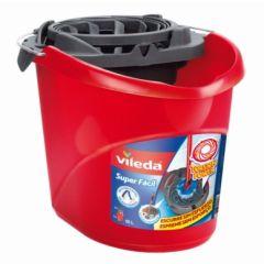 Cubo agua escurridor automatico 10l. rojo superfácil vileda 122357         116937