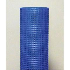 Malla construccion revoco mortero 1x50mt fibra vidrio azul seimark