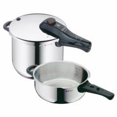 Olla cocina presion super rapida 3+6,5lt acero inox perfect duo wmf 0792669990            117343