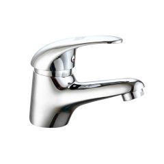 Grifo baño lavabo vivahogar laton cromo javea monomando vh119650