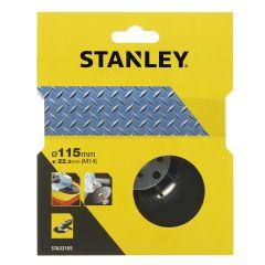 Plato soporte amoladora 115mm/m14 nylon stanley