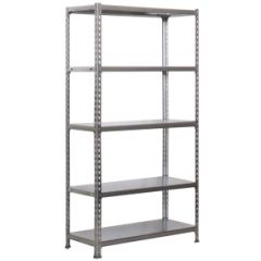 Estanteria ordenacion 5 baldas sin tornillos 1800x900x500mm metal galvanizado simonrack 777100024189055
