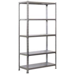 Estanteria ordenacion 5 baldas sin tornillos 2000x1100x400mm metal galvanizado simonrack 777100024201145