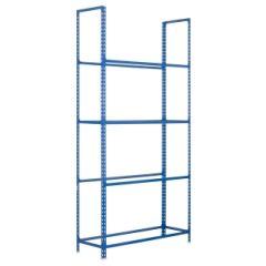 Estanteria ordenacion 4 baldas sin tornillos para llantas 120kg 2000x1000x300mm metal azul simonauto - autoclick simonrack 444100235201034