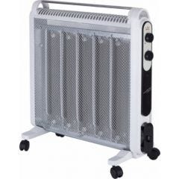 Radiador electrico mica 1200/2000w blanco micathermic 5 placas jata
