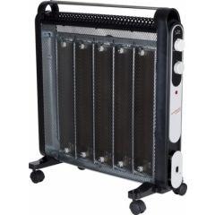 Radiador electrico mica 1200/2000w negro micathermic 5 placas jata 122039