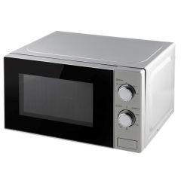 Microondas electrico analogico 700w 20lt inox 6 niveles kuken 33764