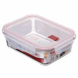 Hermetico alimentos rectangular 1,5 l cristal cook & eat tatay 1161809