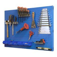 Estanteria panel 1200x400mm herramientas simonrack metal azul simonwork con torn
