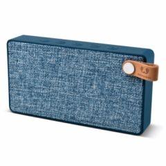 Altavoz bluetooth rectangular fresh'n rebel azul rockbox slice fabric indigo fnr