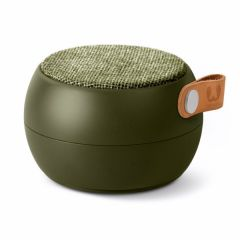 Altavoz bluetooth redondo fresh'n rebel verde rockbox round fabric army fnra032