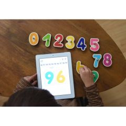 Juego interactivo madera infantil marbotic leer y contar mbsb16