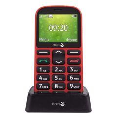 Doro 1361 telefono movil rojo