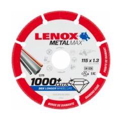 Disco corte segmentado 115x1,3x22,23mm diamante metalmax lenox