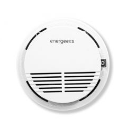 Detector wifi humo plastico blanco energeeks