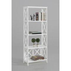 Estanteria ordenacion 5 baldas 147x60x30 madera blanco kit closet 2070030003                 128844