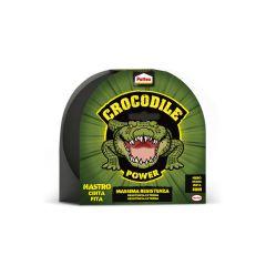 Cinta adhesiva americana 48mmx 30mt negra crocodile pattex 2502183
