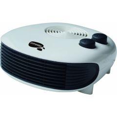 Calefactor electrico horizontal 1000/2000w vivahogar         130082