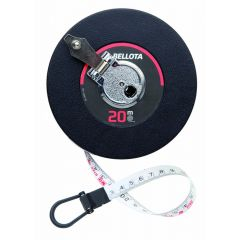 Cinta metrica 20mt-13,0mm bellota fibra vidrio carcasa plastico 50021-20  130177