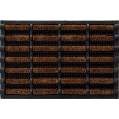 Felpudo decoracion 40x60cm rectangular dintex fibra de coco 55537