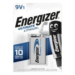 Pila l522 lithium 1ud 80x18x114mm l522 (9v) energizer e301535000