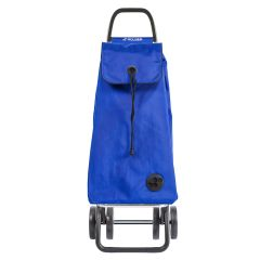 Carro compra 4 ruedas plegable chasis alumino bolsa lisa mf azul i-max mf 4l rol