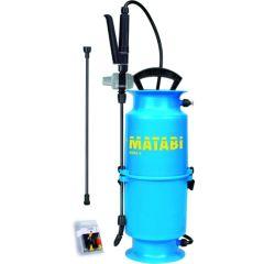 Pulverizador agricola presion previa lanza fibra vidrio juego de boquillas 6lt kima 9 matabi 83808