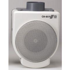 Extractor cocina centrifugo bandeja recogegrasa 625m3/h plastico ignifugo blanco