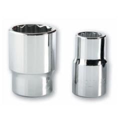 """Llave vaso bihexagonal con clip 1/2""""-10mm cromo vanadio bahco sb78000dm-10"""