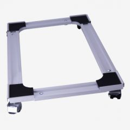 Soporte cocina 4 ruedas giratorias extensible hasta 140kg 39x61-60x102cm acero b