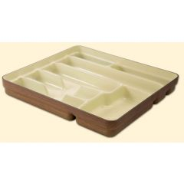 Portacubierto cocina 7 compartimentos 355x330x50mm madera surtido denox 11220