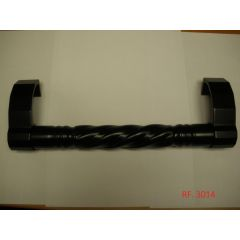Tirador puerta 330mm negro tovic 3014 3014-negro